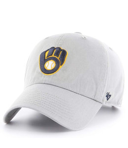 '47 BRAND BREWERS BALL AND GLOVE CLEAN UP HAT