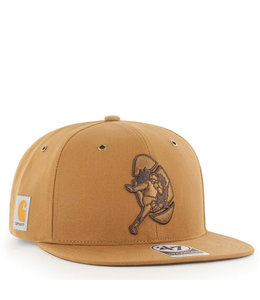 '47 BRAND PACKERS X CARHARTT LEGACY CAPTAIN HAT