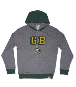FANATICS PACKERS CHENILLE PATCH HOODIE