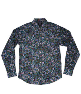 THE QUIET LIFE PAISLEY BUTTON DOWN SHIRT