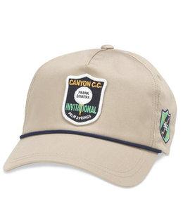 AMERICAN NEEDLE CANYON INTERNATIONAL LIGHTWEIGHT ROPE HAT