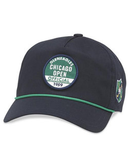 AMERICAN NEEDLE CHICAGO OPEN LIGHTWEIGHT ROPE HAT