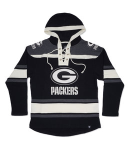 '47 BRAND PACKERS SUPERIOR LACER HOODIE