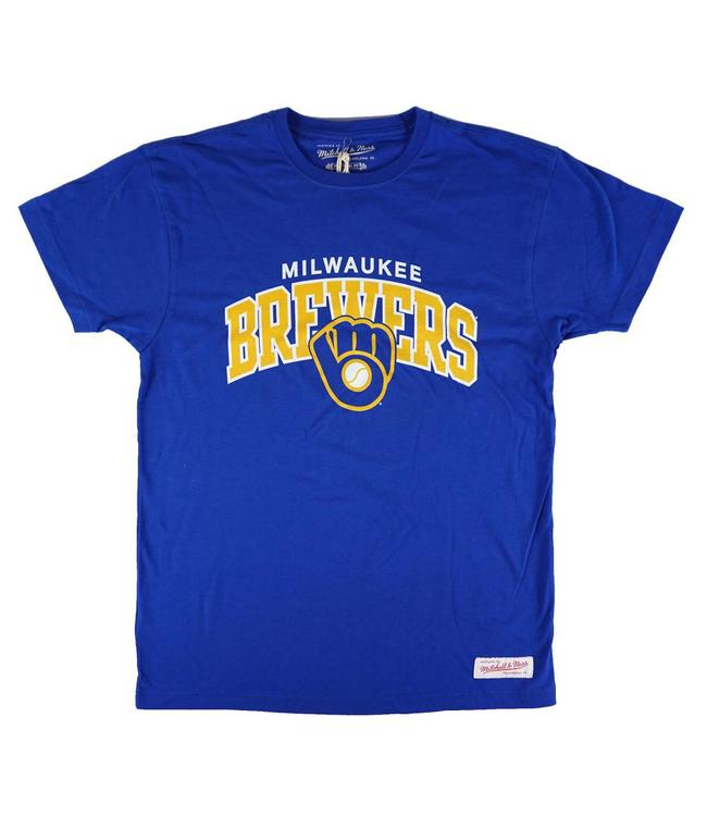 MITCHELL AND NESS MILWAUKEE BREWERS ARCH T-SHIRT