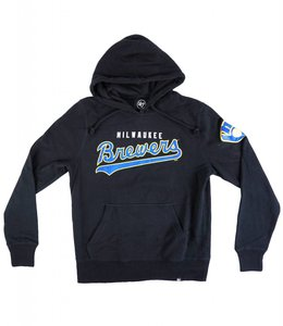 '47 BRAND MILWAUKEE BREWERS HEADLINE HOODIE