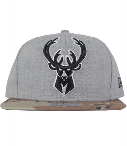 NEW ERA BUCKS FLY KNIT STATE SNAPBACK