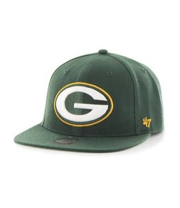 '47 BRAND GREEN BAY PACKERS SUPER SHOT CAPTAIN HAT