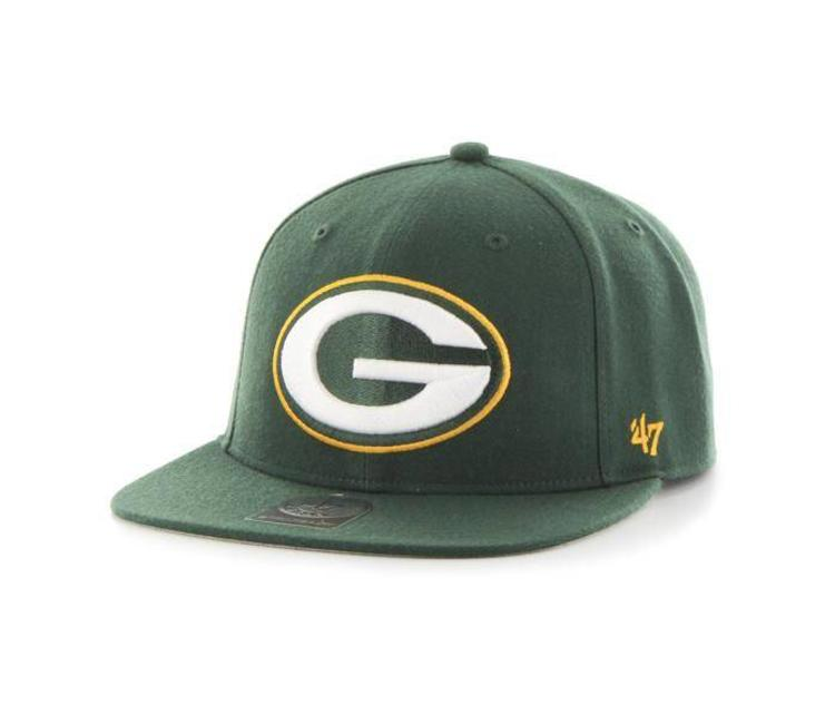 859e93bfd49 47 Brand Green Bay Packers Super Shot Captain Hat - Dark Green - MODA3