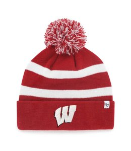 '47 BRAND WISCONSIN BADGERS BREAKAWAY BEANIE
