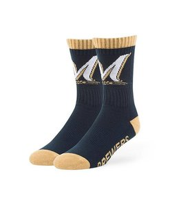 '47 BRAND MILWAUKEE BREWERS BOLT SOCK