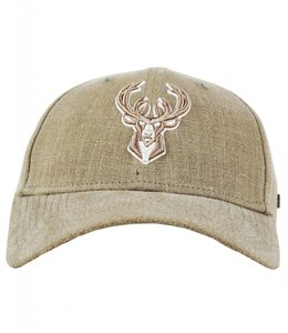 NEW ERA BUCKS SATCHEL DEER LOGO HAT