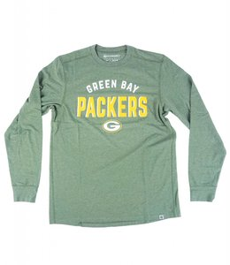 '47 BRAND GREEN BAY PACKERS CADENCE LONG SLEEVE TEE