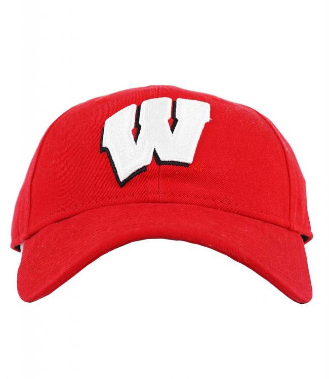 NEW ERA WISCONSIN BADGERS CLASSIC STOCK STRAPBACK HAT