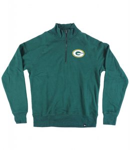 '47 BRAND GREEN BAY PACKERS SPORT 1/4 ZIP FLEECE