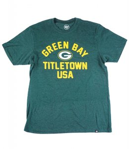 '47 BRAND GREEN BAY PACKERS TITLETOWN CLUB TEE