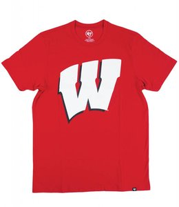 '47 BRAND WISCONSIN BADGERS W CLUB TEE