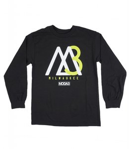 MODA3 M3 MOUNTAIN LOGO LONG SLEEVE TEE