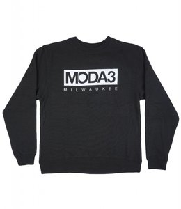 MODA3 BOX LOGO CREW NECK SWEATSHIRT
