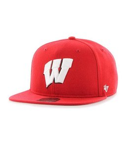 '47 BRAND WISCONSIN BADGERS SURE SHOT SNAPBACK