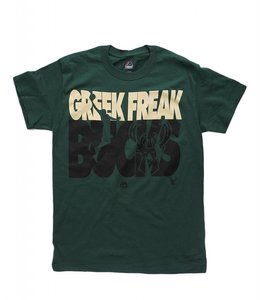 MAJESTIC BUCKS GIANNIS GREEK FREAK VOLTAGE TEE