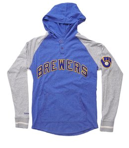 MITCHELL AND NESS BREWERS SLUGFEST HOODIE