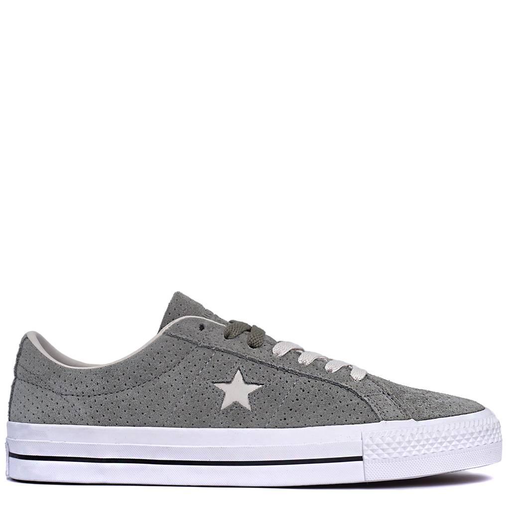 90a25f55969c Converse One Star Pro OX Shoe - Dark Stucco
