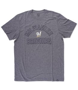 '47 BRAND BREWERS HOLLARC MATCH TEE