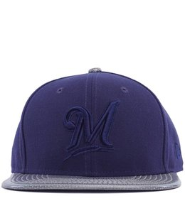 NEW ERA BREWERS LUSTER PERF HAT