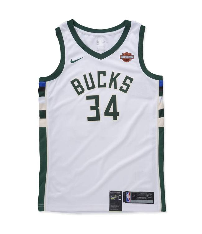 NIKE Bucks Giannis Antetokounmpo Association Swingman Jersey