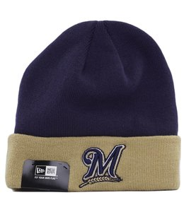 NEW ERA MILWAUKEE BREWERS BASIC CUFF KNIT