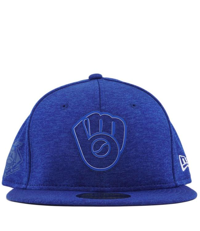 NEW ERA Brewers '18 Clubhouse 59Fifty Fitted Hat
