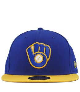 NEW ERA MILWAUKEE BREWERS ALTERNATE MLB BATTING PRACTICE PROLIGHT 59FIFTY FITTED