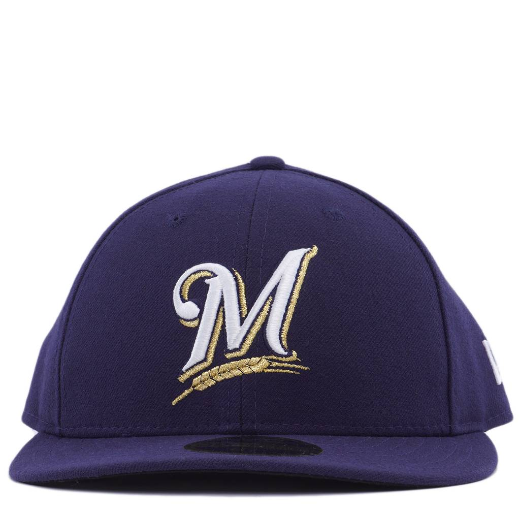 00bc633d New Era Milwaukee Brewers Authentic Low Profile 59Fifty Fitted Hat