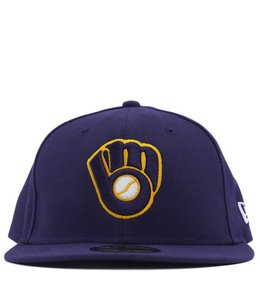 NEW ERA BREWERS ALTERNATE COLOR 59FIFTY FITTED
