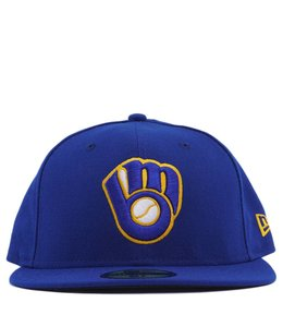 NEW ERA MILWAUKEE BREWERS 2017 ROAD FITTED