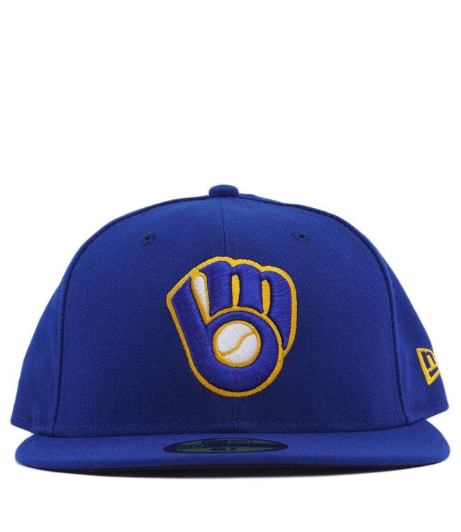 NEW ERA Brewers Alternate Logo 59Fifty Fitted Hat