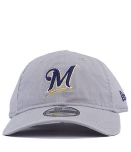 uk availability fdc38 ceabf NEW ERA MILWAUKEE BREWERS CORE CLASSIC ADJUSTABLE HAT