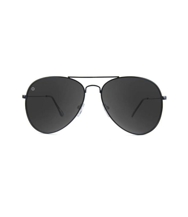 72f0b710442 Knockaround Mile Highs Sunglasses - Black Smoke - MODA3