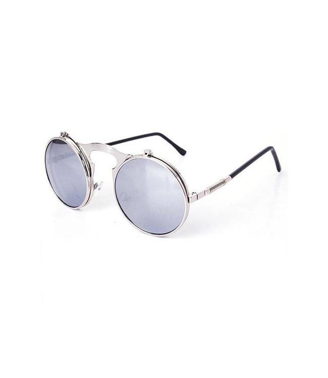 d0bd4039da Roi al Flip Up Sunglasses - Silver - MODA3