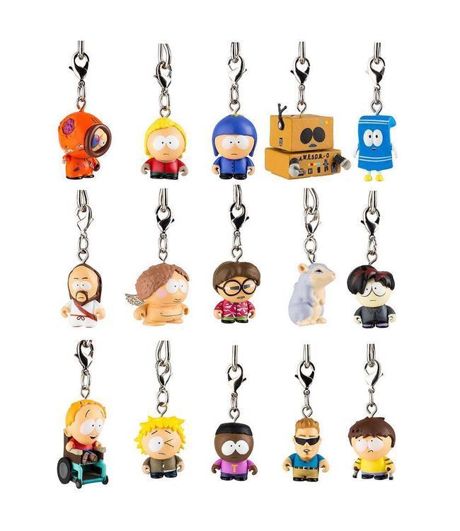 KIDROBOT South Park Zipper Pull Keychain Series 2