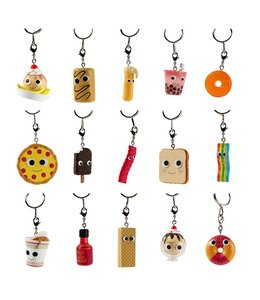 KIDROBOT YUMMY WORLD SWEET AND SAVORY KEYCHAINS