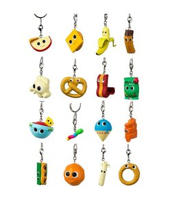 KIDROBOT YUMMY WORLD SNACK ATTACK BLIND BAG KEYCHAIN