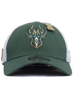 NEW ERA MILWAUKEE BUCKS 2018 DRAFT 39THIRTY FITTED HAT