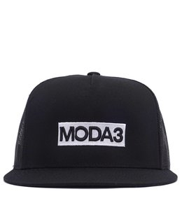 MODA3 BOX LOGO TRUCKER HAT