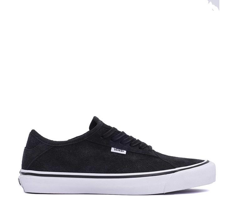251968d6e8d0 Vans Diamo NI Hairy Suede Shoe - Black