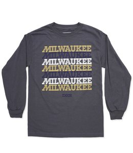 MODA3 MILWAUKEE LOGO LONG SLEEVE TEE