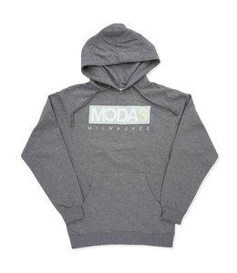 MODA3 BOX LOGO HEAVYWEIGHT PULLOVER HOODIE