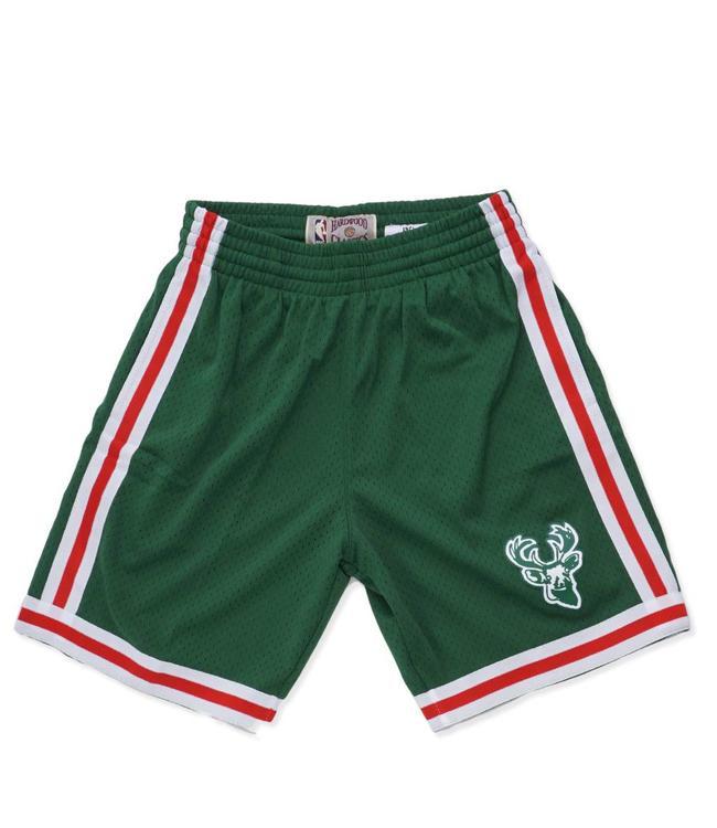 MITCHELL AND NESS Bucks 1971-72 Road Swingman Shorts
