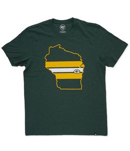 '47 BRAND PACKERS STATE LOGO FILL TEE