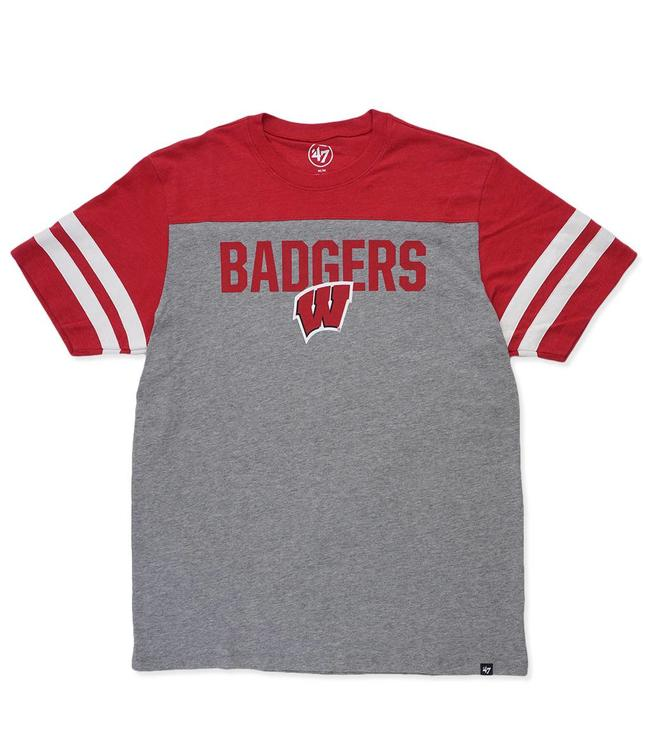 '47 BRAND Badgers Versus Club Tee